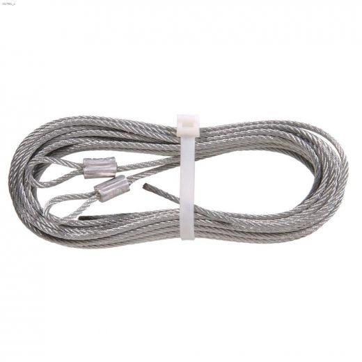 "1\/8\"" x 8' 8\"" Galvanized Torsion Spring Lift Cable"