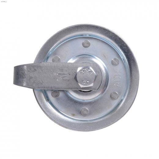 """4\"""" Galvanized Pulley With Fork Bolt & Nut"""