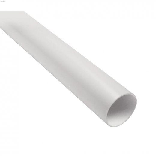 "2\"" x 10' Central Vacuum White PVC Pipe"