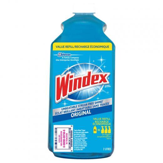 Windex Original 2 L Blue Refill