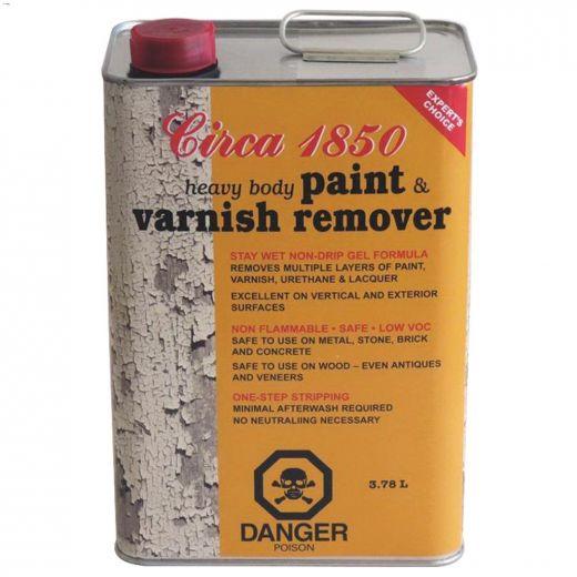 Circa 1850 4 L Heavy Body Paint & Varnish Remover