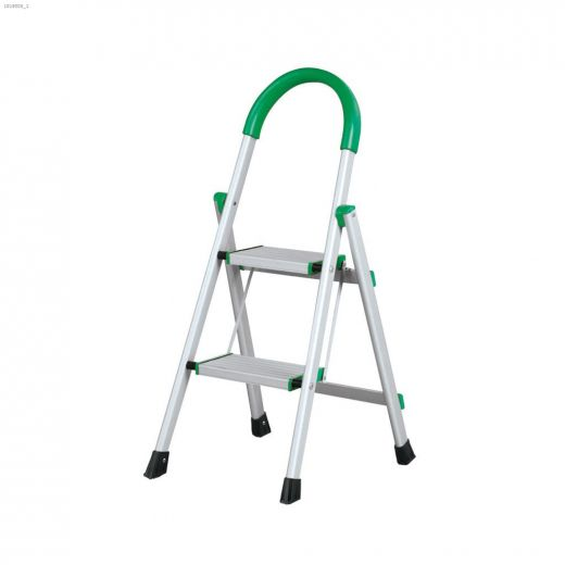 Aluminum Domestic Wide Stair Step Ladder