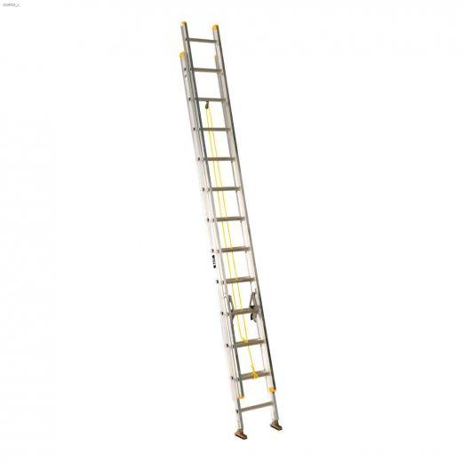 24' Aluminum Type 2 Industrial Extension Ladder