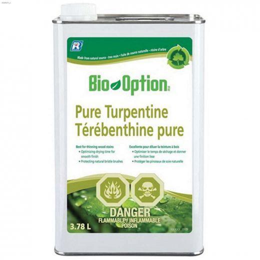 Bio-Option\u2122 3.78 L Pure Turpentine Thinner & Cleaner