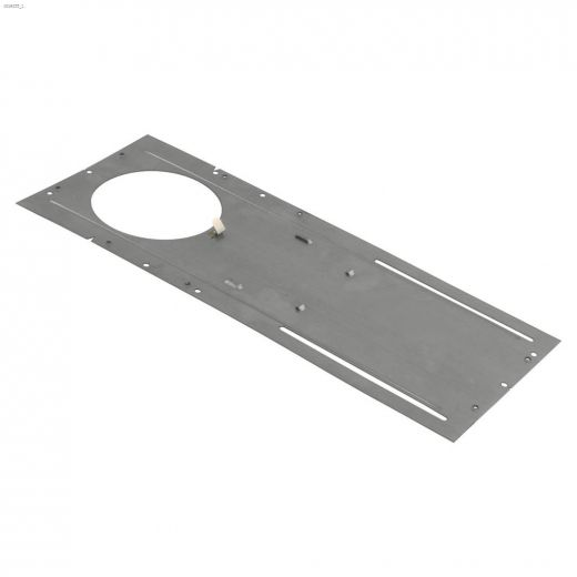 """Galvanized Steel 4\"""" Round Pre-Mounting Plate"""