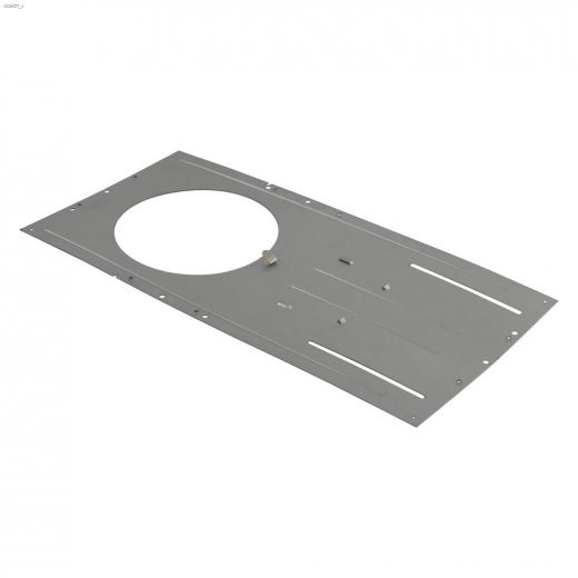 """Galvanized Steel 6\"""" Round Pre-Mounting Plate"""