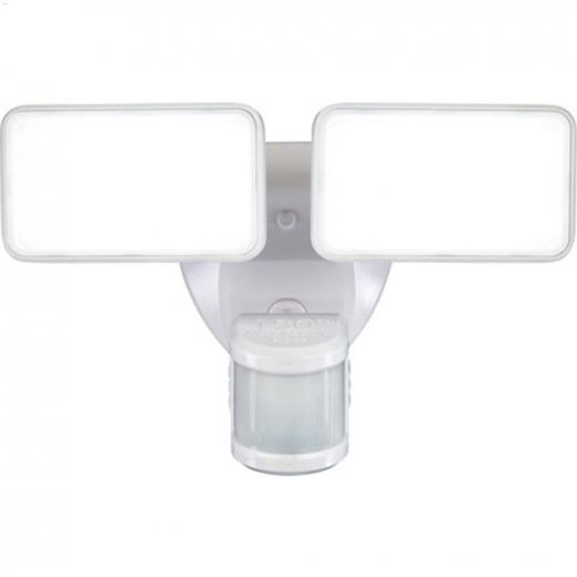 180 Degree White 1-Head Motion-Activated Security Light