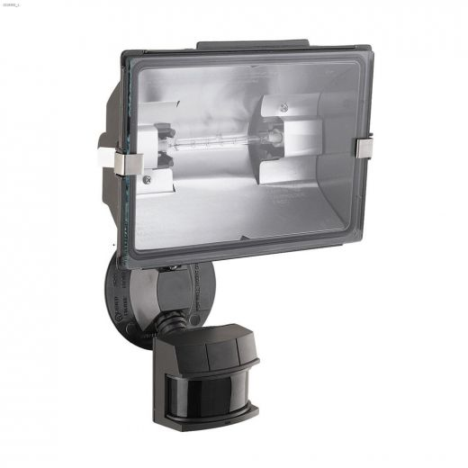 240 Degree 500 Watt Bronze Motion-Activated Security Light