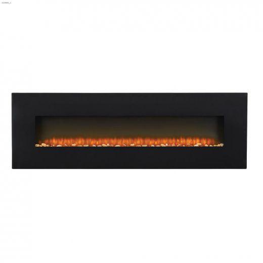 "5000 Btu 1500 Watt 72\"" Electric Wall Mount Fireplace"