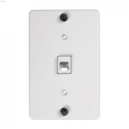 White Modular Wall Plate