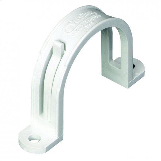 "2\"" Central Vacuum White Tubing Strap"