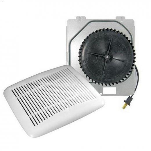 120V 1.2A White Grille Bathroom Fan Upgrade Kit