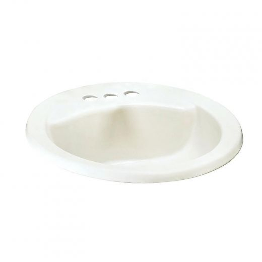White Ravenna Bathroom Sink