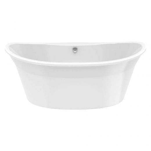 Orchestra 6032 White Off-Center 2-Piece Bath Tub