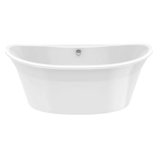 Orchestra 6636 White Off-Center 2-Piece Bath Tub