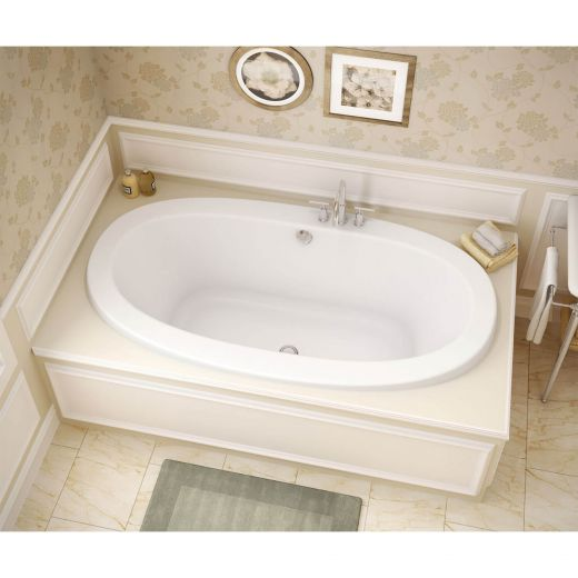 Reverie Center White Type A Hydrosens Bathtub