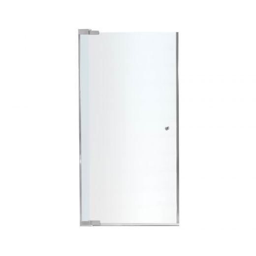 """27.5 - 29-1/2"""" x 69"""" Chrome Mistelite Pivot Shower Door"""