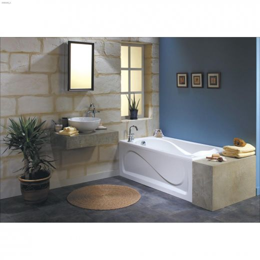 Cocoon\u00ae 6032 End White Aerosens Bathtub