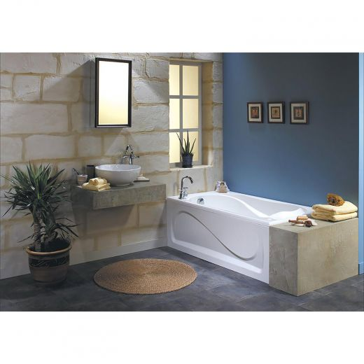 Cocoon 6032 End White Aerosens Bathtub