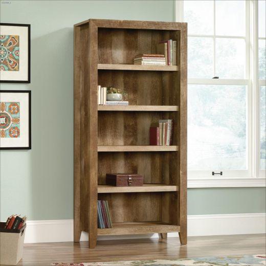"""Dakota Pass 33-3\/4\"""" Craftsman Oak 5-Shelf Bookcase"""