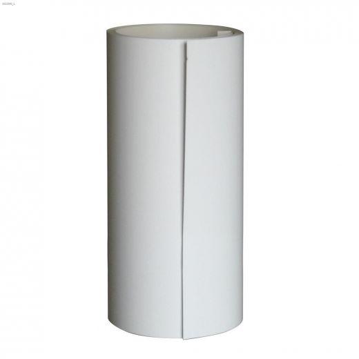 "24\"" x 50' Aluminum Bright White Flat Stock"