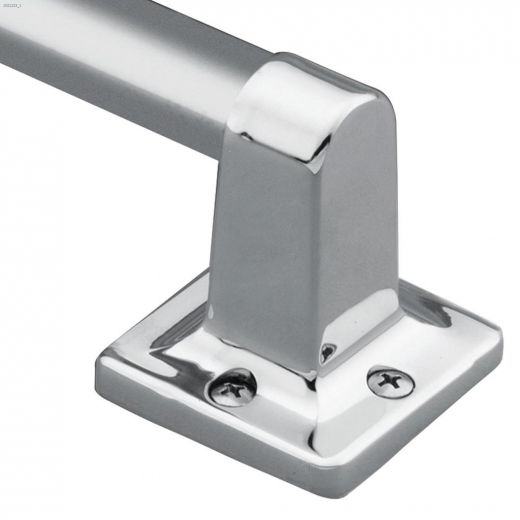 """7\/8\"""" x 9\"""" Stainless Steel Wall Mount Hand Grip"""