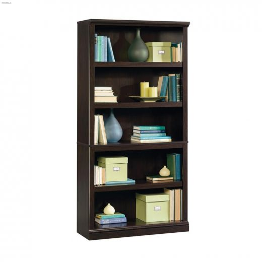 """Sauder Select 35-1\/4\"""" 5-Shelf Bookcase"""