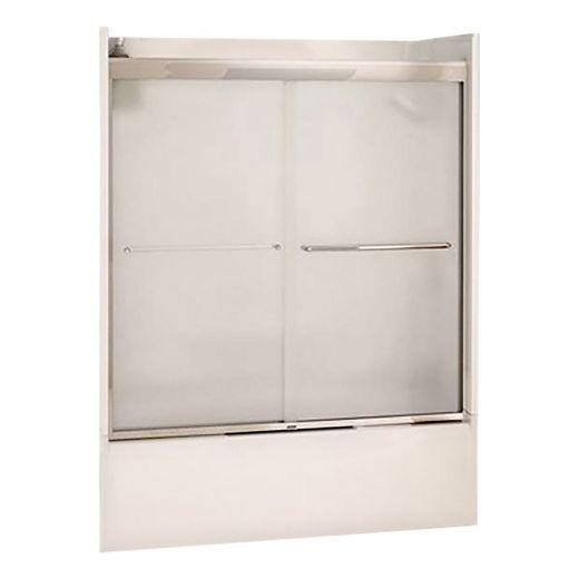 "55 - 59"" x 57"" Mistelite 2-Panel Sliding Tub Door"