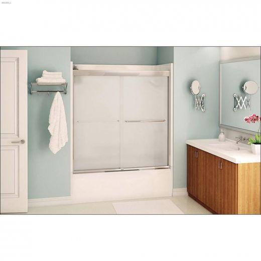 "55 - 59\"" x 57\"" Mistelite 2-Panel Sliding Tub Door"