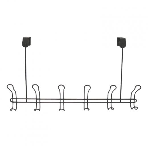 Classico Over-The-Door 6 Hook Rack