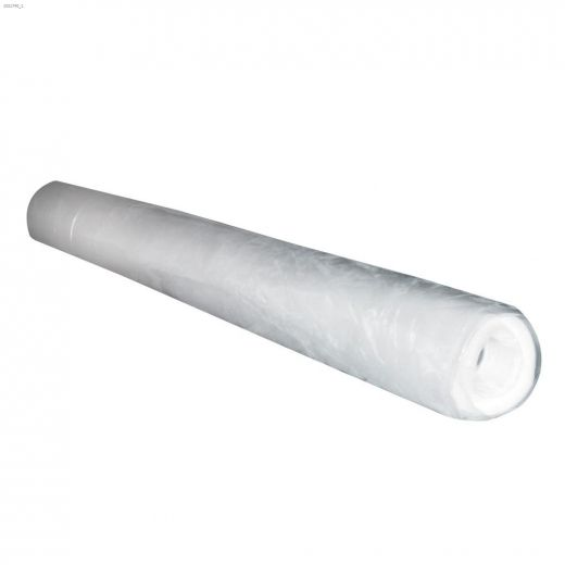 """50' x 120\"""" Clear Heavy Duty Construction Roll 500 Sq-ft"""
