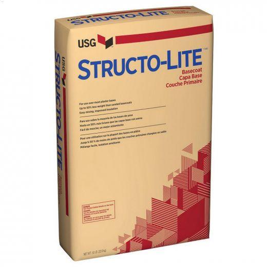 22.7 kg White To Off-White Structo-Lite\u00ae Basecoat Plaster