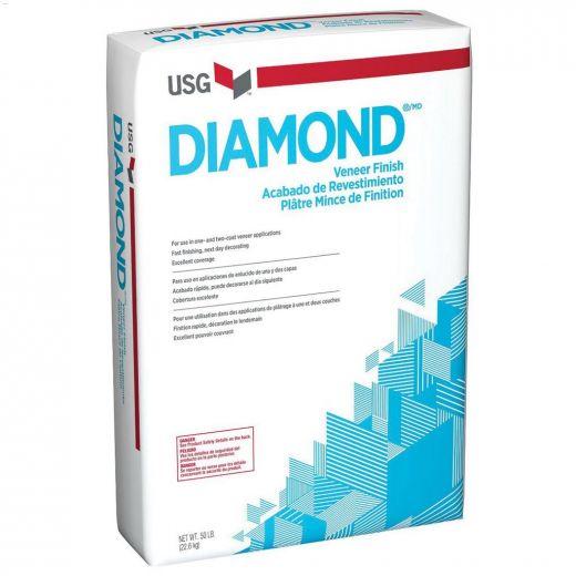 22.7 kg Bag White to Off-White Diamond\u00ae\u00a0 Finish Plaster