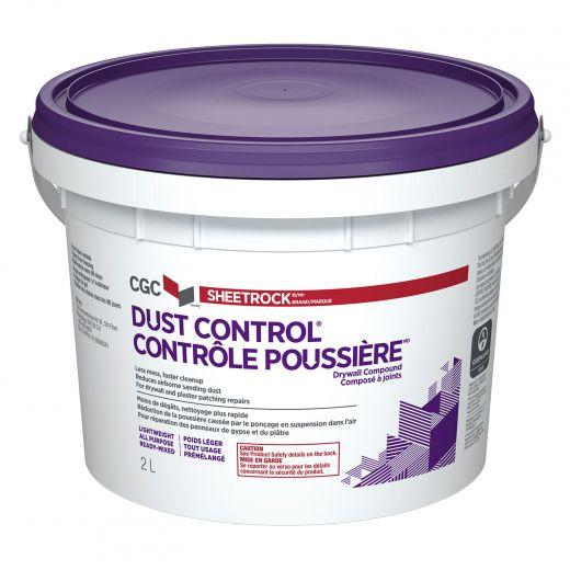 2 L Pail Sheetrock Dust Control Joint Compound
