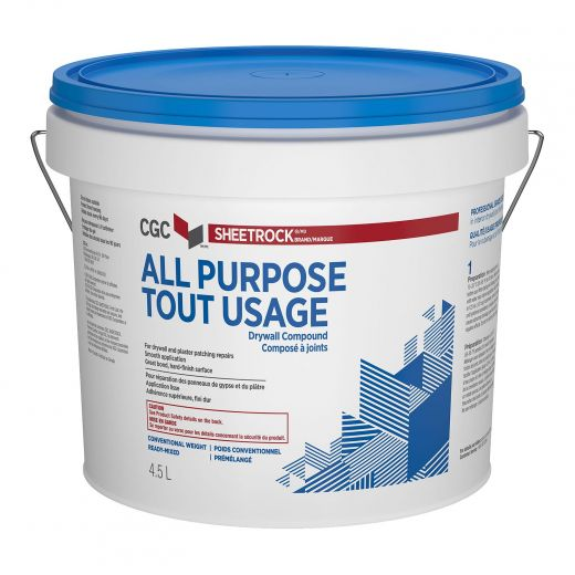 4.5 L Sheetrock All Purpose Drywall Compound