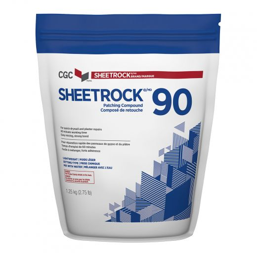 1.25 kg Sheetrock 90 min. Setting Joint Drywall Compound