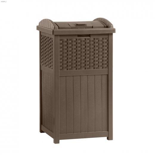 113.5 - 125 L Wicker Trash Hideaway