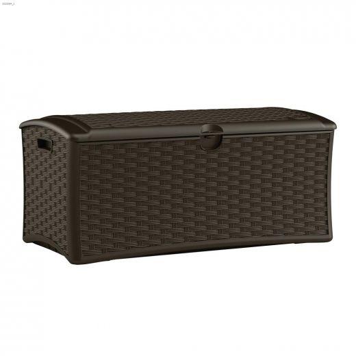 72 gal Wicker Deck Box