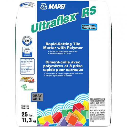 Ultraflex RS 11.3 kg Rapid-Setting Tile Mortar With Polymer