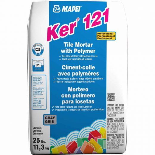 Ker 121 22.7 kg Bag Grey One-Step Tile Mortar With Polymer