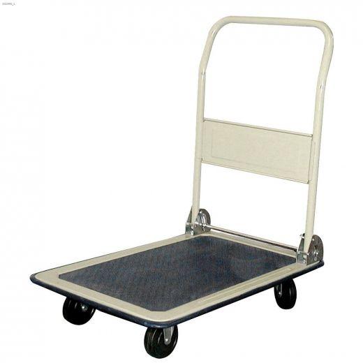 "330 lb 18\"" x 30\"" Steel 4-Wheel Platform Cart"