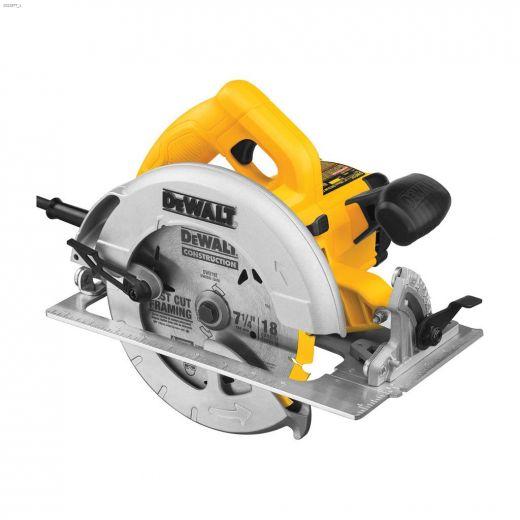 """5200 rpm 7-1\/4\"""" Corded Circular Saw"""