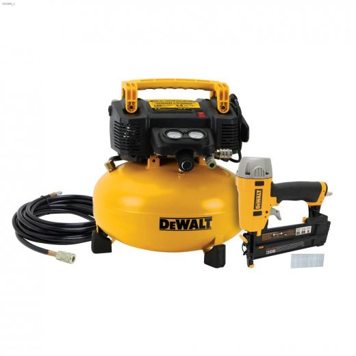 18 ga Air Compressor & Brad Nailer Combo Kit