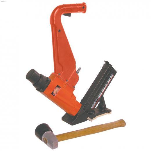 """2\"""" 2-In-1 Flooring Stapler\/Cleat Nailer Kit"""