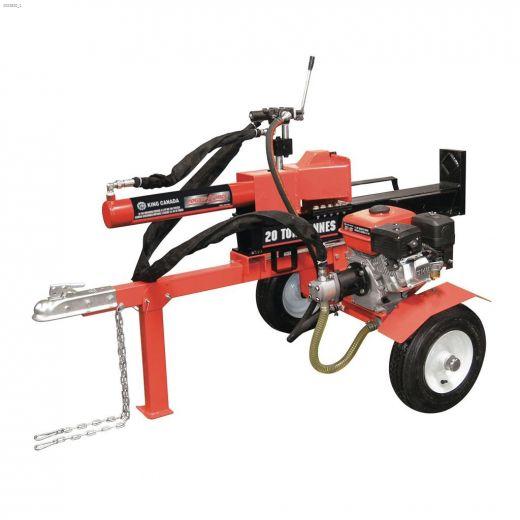 20 Tons Gasoline 6.5 HP Log Splitter