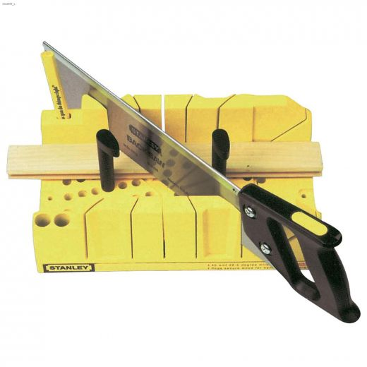 """14\"""" Clamping Mitre Box With Saw"""