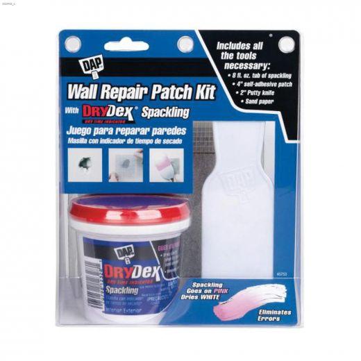 DryDex\u00ae Spackling 0.5 pt Wall Repair Patch Kit