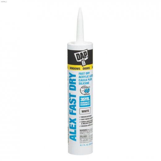 Alex Fast Dry 300 mL Cartridge White Caulk
