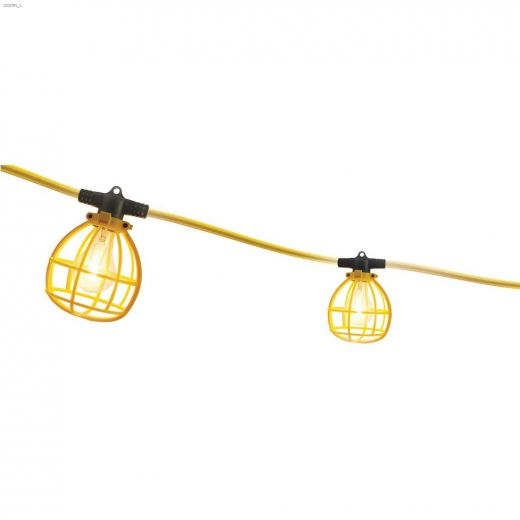 (5) Bulb 25' Yellow String Light With Receptacle