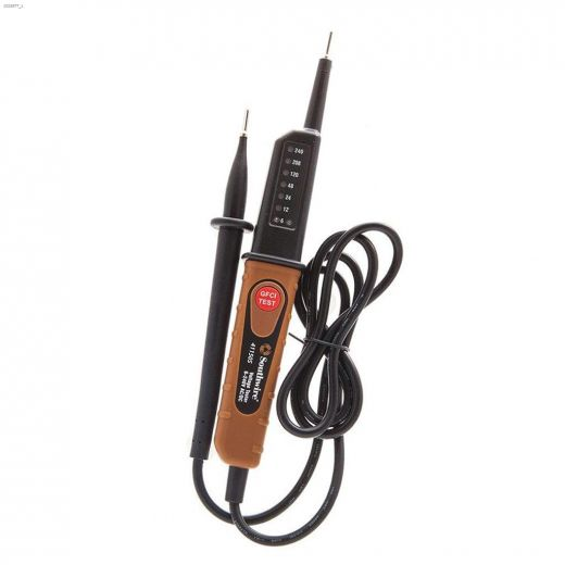 Plastic Copper\/Black AC\/DC Voltage Tester